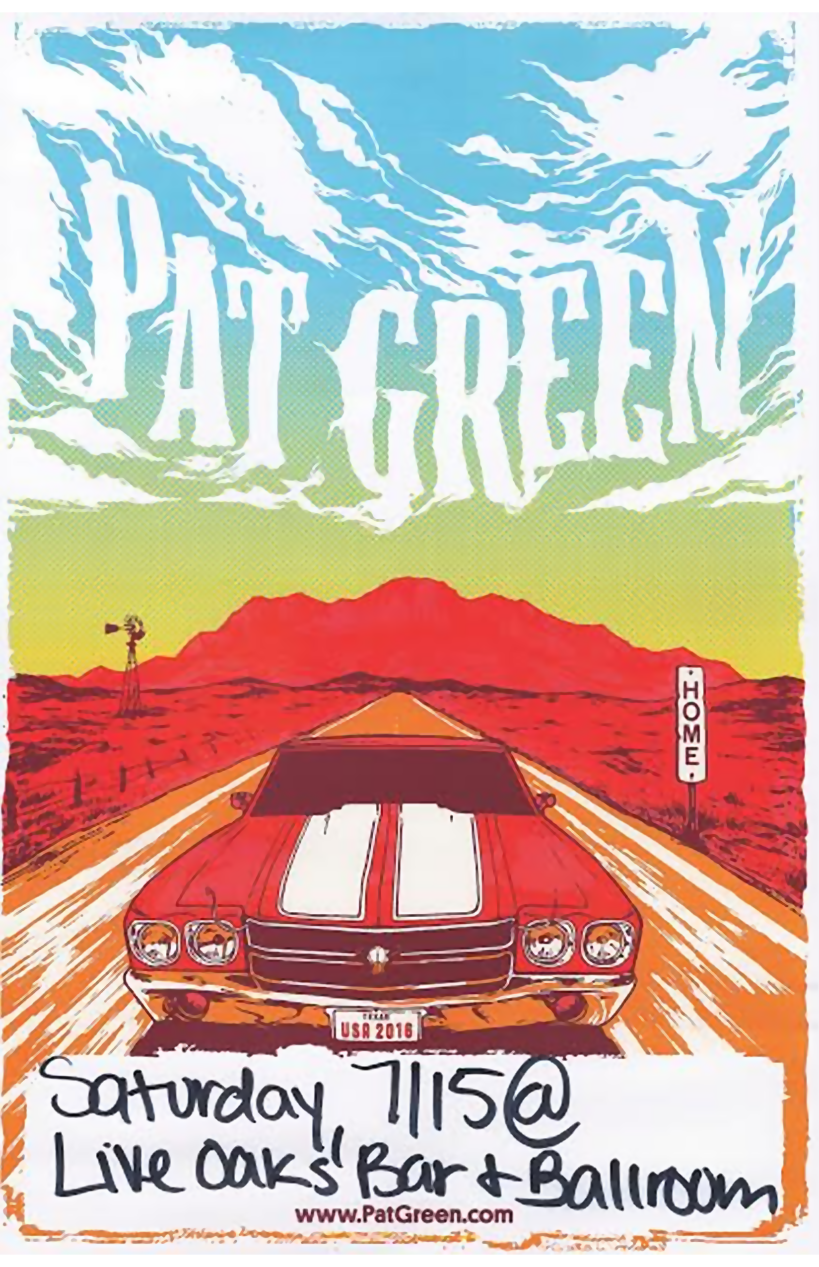 Pat Green • Cody Cooke • Stephen Paul